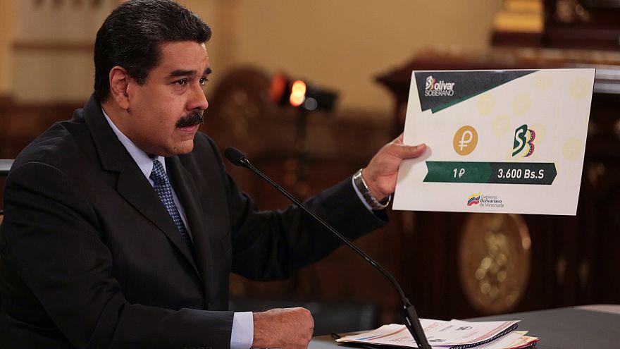 شاهد: فنزويلا تصدر عملة جديدة لوضع حدّ للتضخم المستشري في البلاد