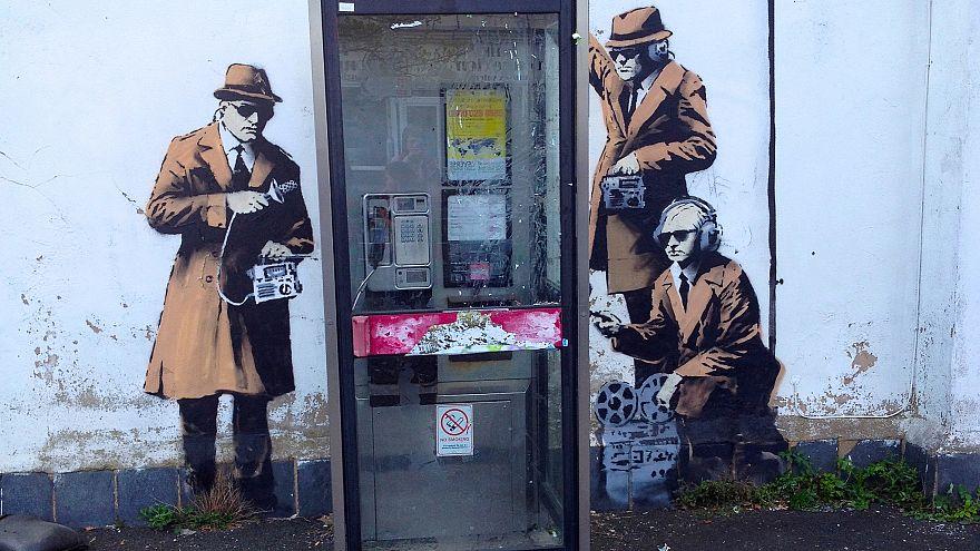 Banksy in Cheltenham