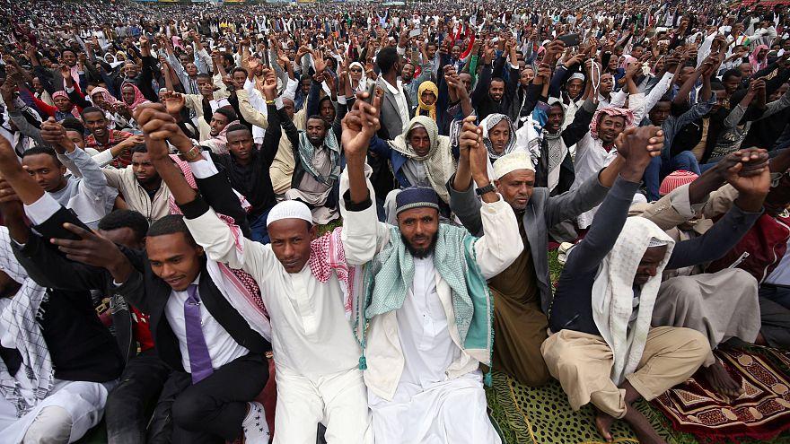 Watch: Muslims around the world celebrate Eid al-Adha