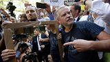 Prágai megemlékezés: kifütyülték a kormányfőt