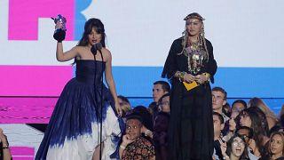 MTV ödüllerine Madonna'nın konuşması ve Camila Cabello damgasını vurdu