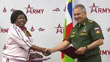 La Russie et la Centrafrique signent un accord militaire