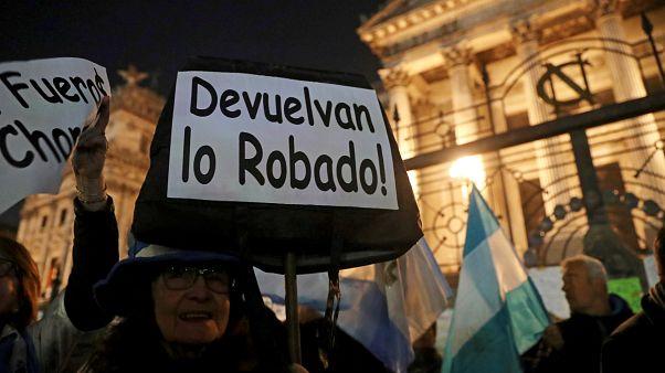 Los argentinos claman el desafuero de  Cristina Kirchner