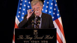 """USA, Bolton: """"Le bombe di Israele in Siria sono legittima difesa"""""""