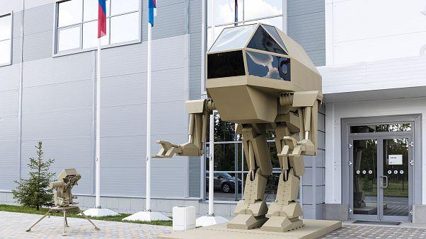 Kalashnikov presenta su robot de guerra