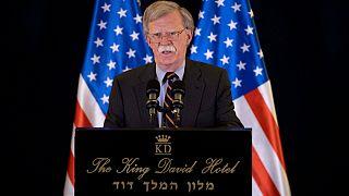 جان بولتون: آمریکا در پی تغییر رژیم ایران نیست