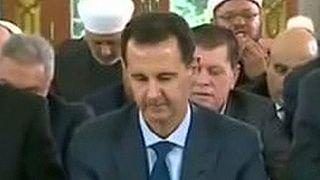 """Presidente sírio participa nas orações da """"Festa do Sacrifício"""""""