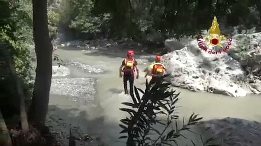 Nyolcéves kislány is kimentett túrázók között van