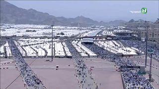 Több mint kétmillió zarándok érkezik idén Mekkába