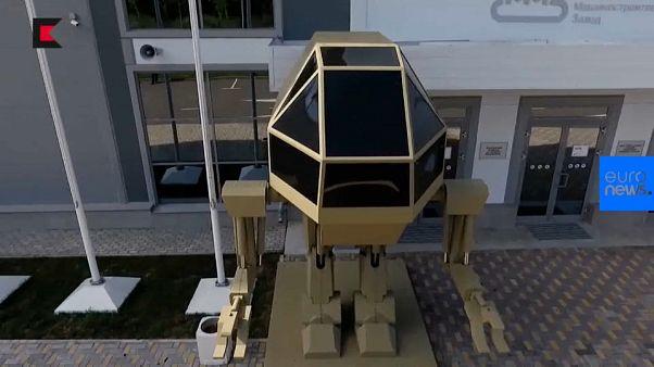 Kalashnikov dévoile un robot-tueur bipède