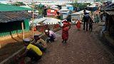 Arakanlı Müslümanların mülteci kamplarındaki buruk bayram sevinci