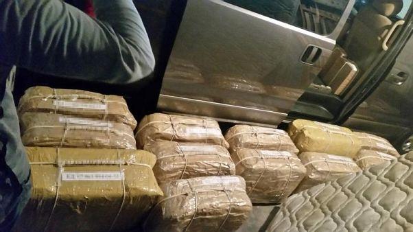 В Аргентине сожгли 400 кг кокаина из российского посольства