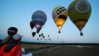 Watch: World Hot Air Balloon tournament in Austria