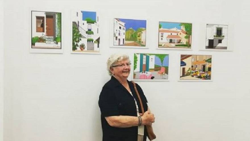 This 88-year-old grandmother from Valencia makes stunning artwork using Microsoft Paint