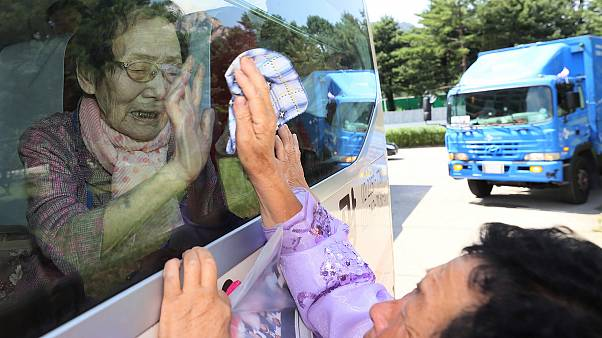 Watch: Koreans bid family members farewell after brief reunion