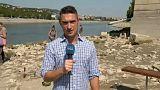 Feltárja a Margit híd titkait az alacsony Duna