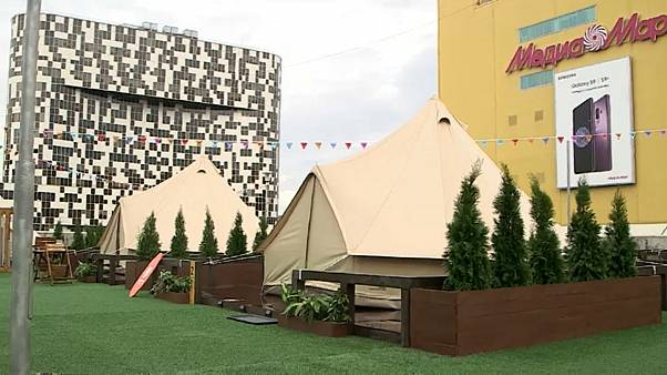 Палатка хипстеров: кемпинг по-московски