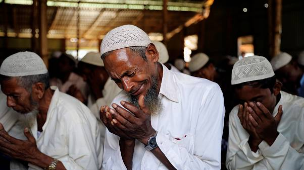 In pictures: How Rohingya are celebrating Eid in refugees camps