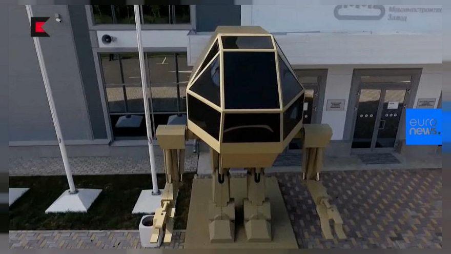 Rus Kalaşnikof'dan insan görünümlü silahlı robot