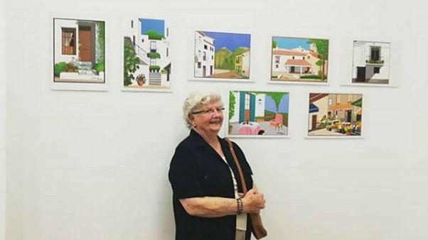 """88-jährige """"Paint""""-Künstlerin begeistert auf Instagram"""