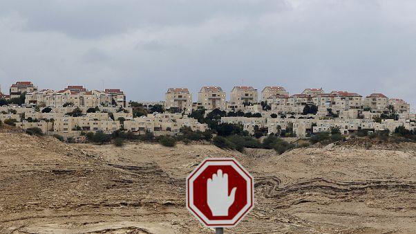 شهرک یهودی نشین معاله آدومیم در نزدیکی بیتالمقدس (اورشلیم)