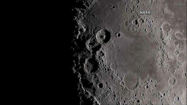 Ay'ın güneş görmeyen yüzünde buzlanmaya rastlandı
