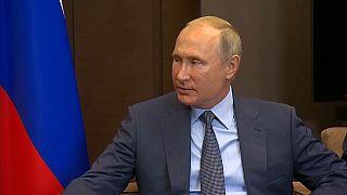 Putin: NATO askeri alt yapısını giderek Rusya sınırına kaydırıyor