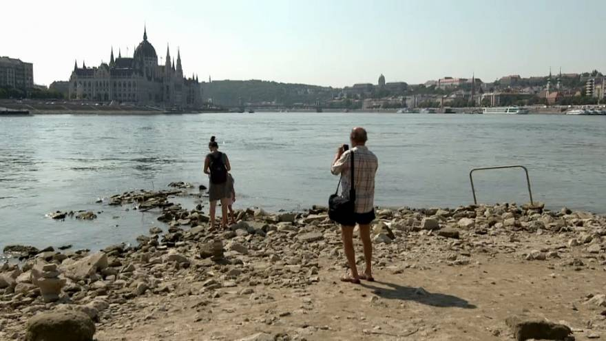 Hungary: Danube levels are low