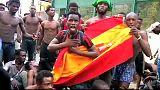 بیش از صد پناهجو با گذر از حصار مرزی به زور وارد خاک اسپانیا شدند