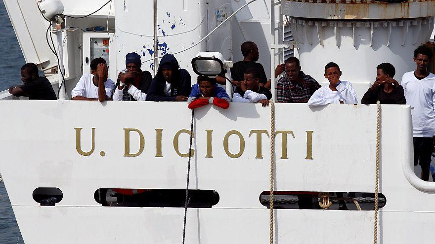 Belpolitikai vitákat gerjeszt a Diciotti ügye