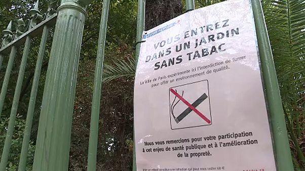 Nemdohányzó lett több párizsi park