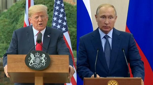 Poutine dénonce les sanctions américaines