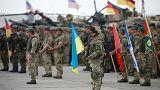 افتتاح تدريبات الناتو العسكرية في جورجيا في 1 آب/ أغسطس 2018