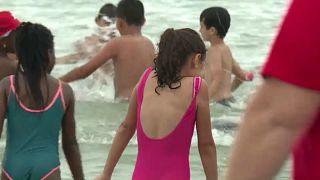 Journée de plage pour 5.000 enfants défavorisés