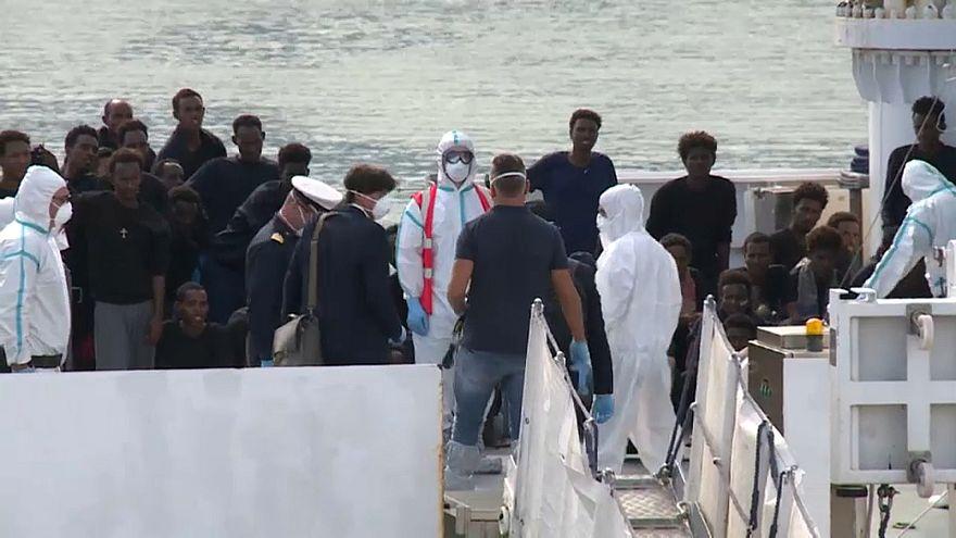 Les migrants du Diciotti dans l'impasse