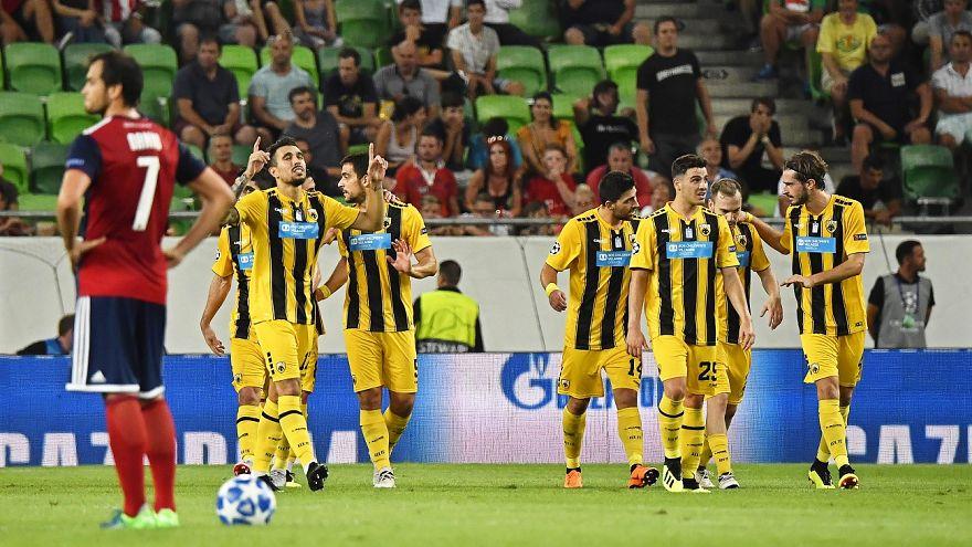 Μεγάλη νίκη της ΑΕΚ στη Βουδαπέστη επί της Βίντι