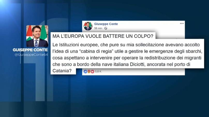 Italia permite el desembarco de los inmigrantes del buque Diciotti