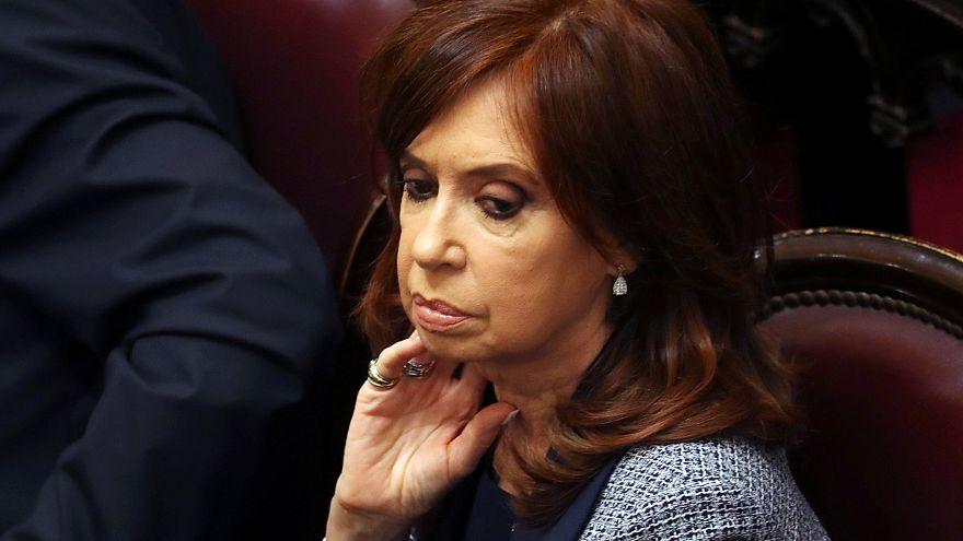 Levantada imunidade parlamentar a Cristina Kirchner