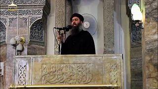 Photo prétexte : message al-Baghdadi, chef de Daech, le 22 août 2018.