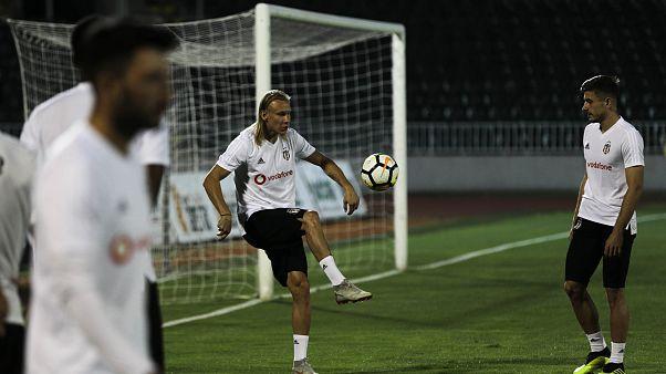 Beşiktaş Partizan maçı hazırlıklarını tamamladı