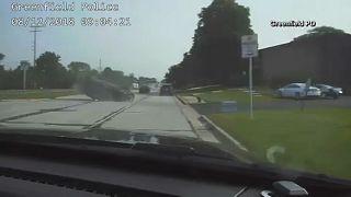 ΗΠΑ: Κινηματογραφική καταδίωξη με έναν αστυνομικό τραυματία