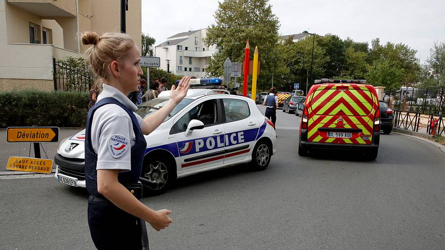Paris suburb knife attack: 2 victims killed, 1 seriously injured