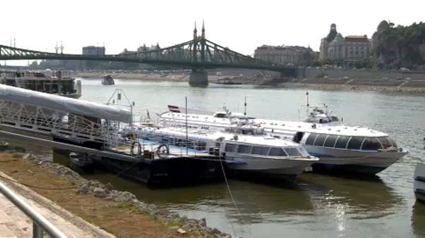 """La secca del """"Danubio blu"""""""