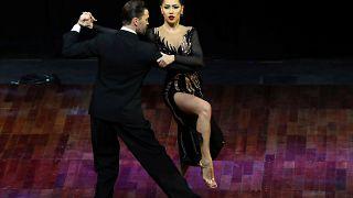 Tango russo vence no Mundial de Buenos Aires