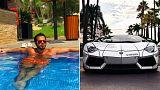 Le roban su flamante Lamborghini y lo recupera con la ayuda de Instagram