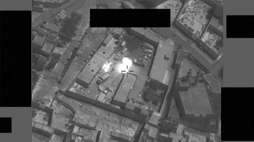 Afganistan: IŞİD militanlarına düzenlenen operasyon görüntülendi