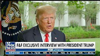 Donald Trump amenaza con un desplome de la bolsa