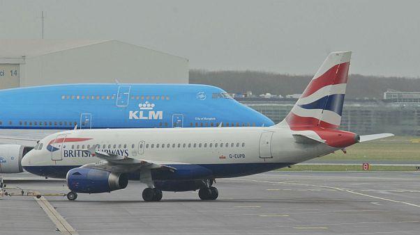 پروازهای خطوط هوایی بریتانیا، هلند و فرانسه به ایران به حال تعلیق در میآیند