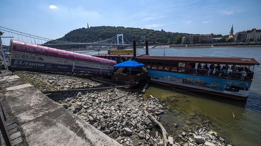 «Χάθηκαν τα κύματα» στο Δούναβη