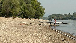 Donau-Niedrigwasser: Ungarns Schifffahrt sitzt auf dem Trockenen